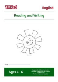 EYFS, Key Stage 1 Literacy Worksheets for kids - reading and writing printable workbook, 4-6 years